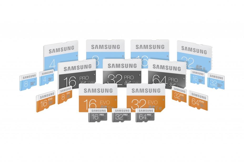 Samsung_microSD and SD cards